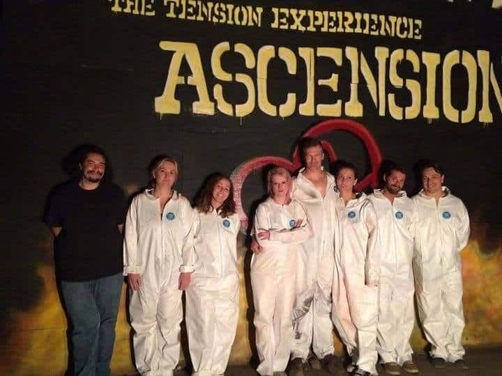 The Tension Experience Ascension Addison Truth OOA Institute BOS Horror Immersive Theater