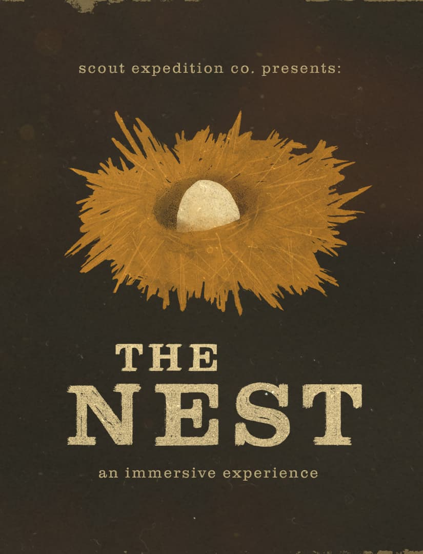 Scout Expedition Co - Immersive theater The Nest - set design - strengths