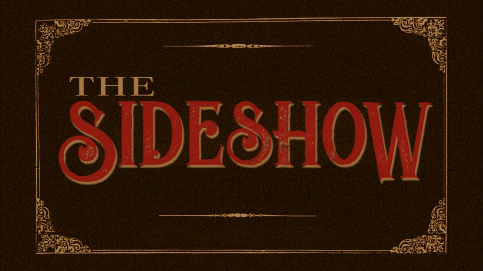 The Sideshow | Banner