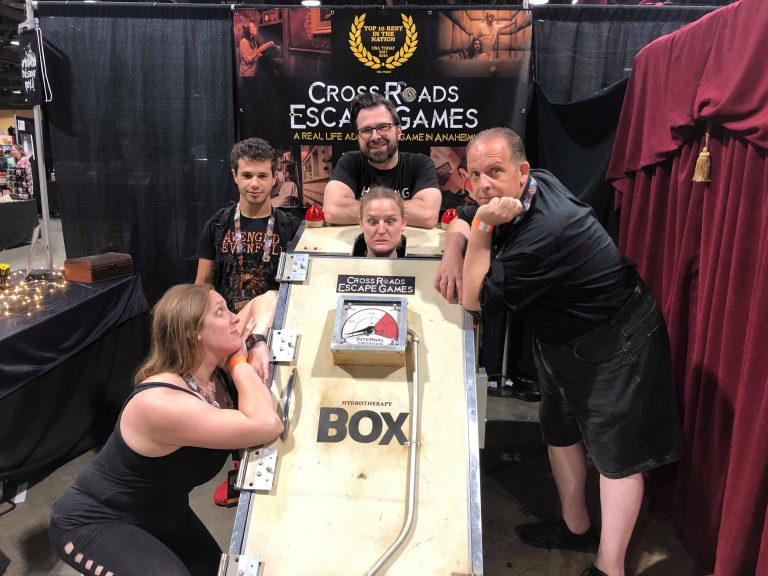 Cross Roads Escape Games - The Box - MSS 2019