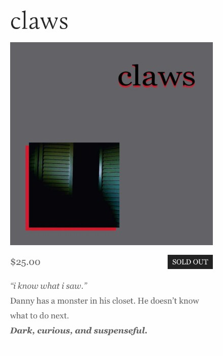Claws | Help Series | Candle House Collective